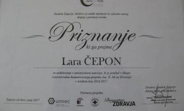 Usvojena nagrada na literarnem natečaju